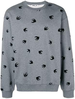 McQ Bird print sweatshirt