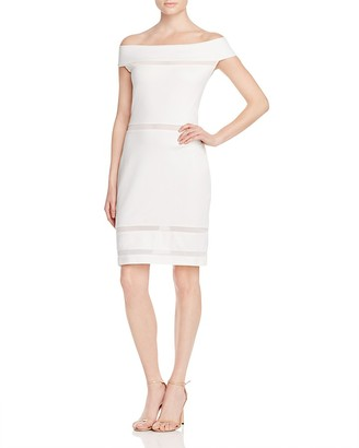 FRENCH CONNECTION Lula Off-the-Shoulder Dress $148 thestylecure.com