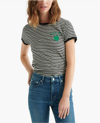 Lucky Brand Striped St. Patrick Day T-Shirt