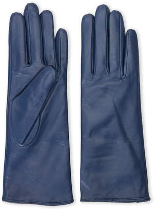 N. C Lective Cashmere-Lined Leather Gloves
