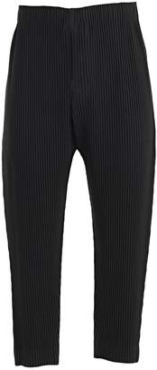 Pleats Please Issey Miyake Straight Leg Trousers