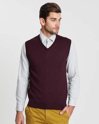 Cerruti Wool Knit Vest