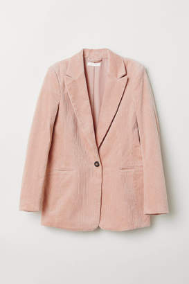 H&M Corduroy Blazer - Orange