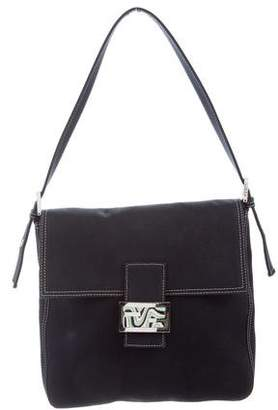 Fendi Canvas Shoulder Bag