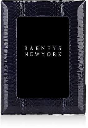 """Barneys New York Snakeskin Studio 4"""" x 6"""" Picture Frame"""