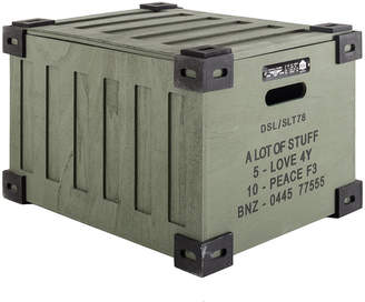 Diesel Wooden Storage Trunk