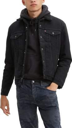 Levi's Type III Fleece Lined Denim Trucker Jacket