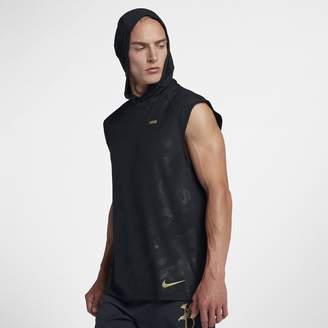 Nike Element Men's Sleeveless Running Hoodie