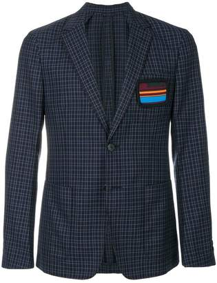 Prada checked blazer