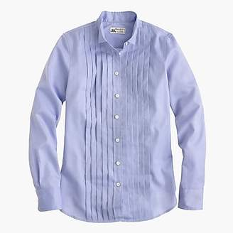Thomas Mason for J.Crew tuxedo shirt in blue