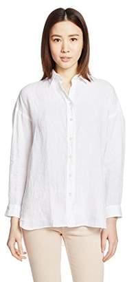 Finamore (フィナモーレ) - (フィナモレ) Finamore リネンビッグシャツ 010608 - GRACE -LISA 13 WHITE ホワイト 40