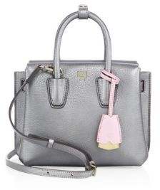 MCM Milla Mini Metallic Leather Tote $720 thestylecure.com