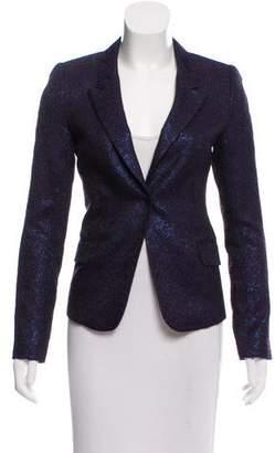 Sophie Theallet Metallic Wool-Blend Blazer