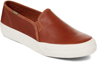 Keds Cognac Double Decker Slip-On Sneakers