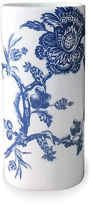 "Caskata 7"" Arcadia Bud Vase - White/Blue"