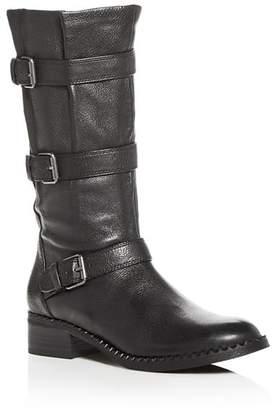 Kenneth Cole Gentle Souls by Women's Best Buckled Moto Boots