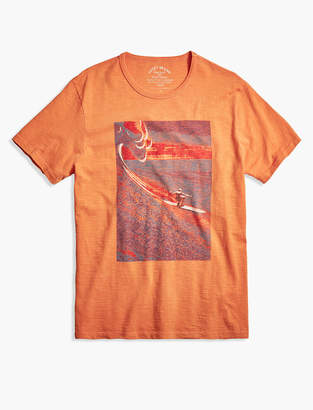 Lucky Brand PSYCHEDELIC SURFER TEE