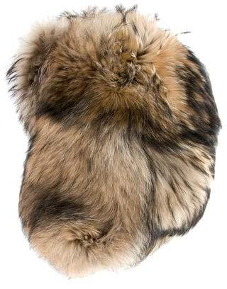 DSQUARED2 Fur Trapper Hat w/ Tags