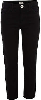 River Island Girls Black stretch straight leg jeans