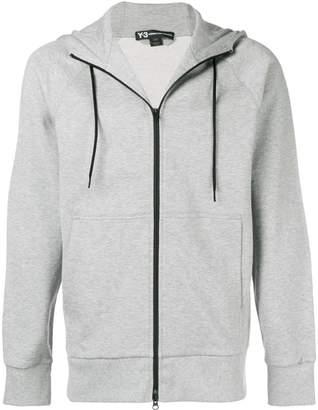 Y-3 Adidas x Yohji Yamamoto zip-up hooded sweatshirt