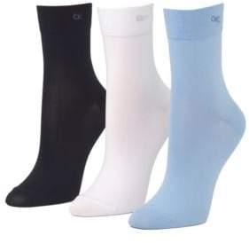 Calvin Klein Three-Pair Short Crew Socks