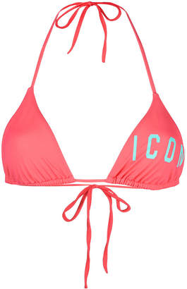 DSQUARED2 Icon bikini top