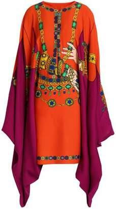 Moschino Printed Crepe Dress