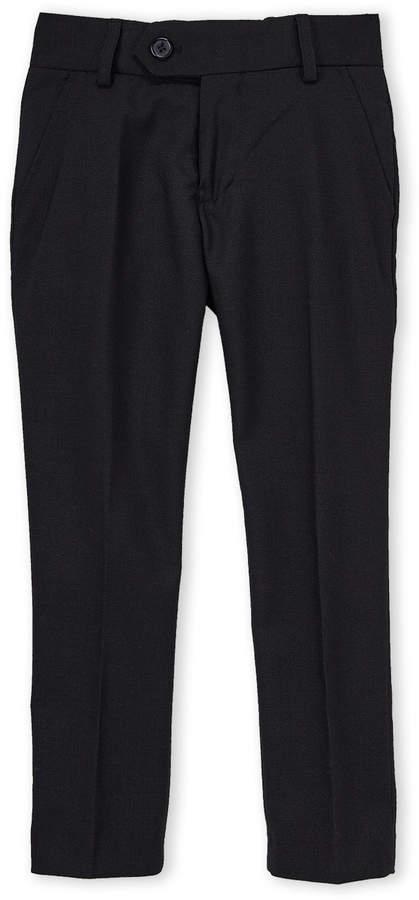 Isaac Mizrahi (Boys 4-7) Birdseye Textured Dress Pants