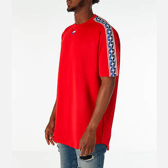 Nike Men's Sportswear Taped Short-Sleeve Shirt