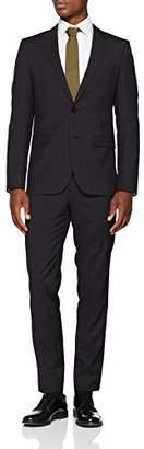 HUGO Men's Astian/hets184 Suit,(Size: 52)