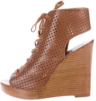 Tory BurchTory Burch Marci Lace-Up Booties w/ Tags