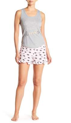 Couture PJ Beauty Sleep Tank & Shorts Pajama Set