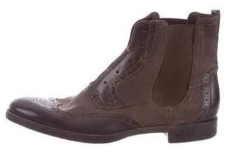 John Varvatos Wingtip Chelsea Boots
