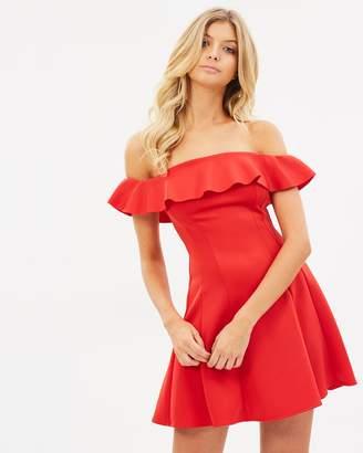 Miss Selfridge Bardot Flippy Dress