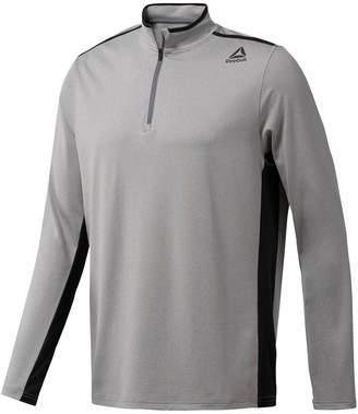 Reebok Men's Perforated 1/4-Zip Pullover