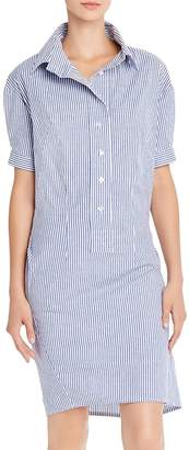Aqua Striped Shirt Dress - 100% Exclusive