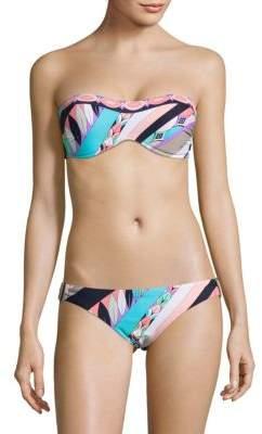 Trina Turk Electric Bandeau Bikini Top