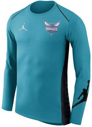 Nike Men's Charlotte Hornets Hyperlite Shooter Long Sleeve T-Shirt