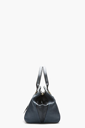 Chloé Navy and black buffed Leather Alice Doctor's Tote