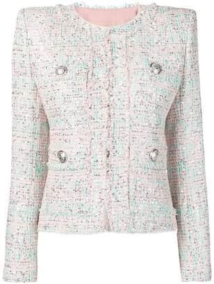 Balmain sequin tweed jacket