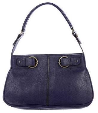 Adrienne Vittadini Leather Buckle Bag