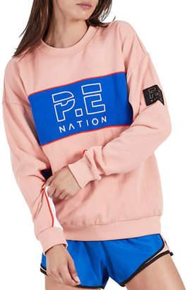 P.E Nation Sonic Logo Pullover Sweater