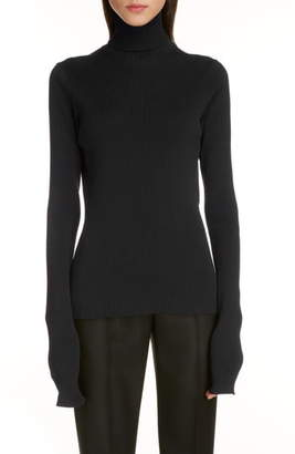 Balenciaga Tech Rib Turtleneck Sweater