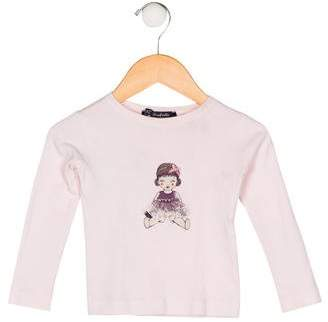 Lili Gaufrette Girls' Printed Top