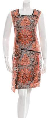 Helmut Lang Printed Sleeveless Dress w/ Tags
