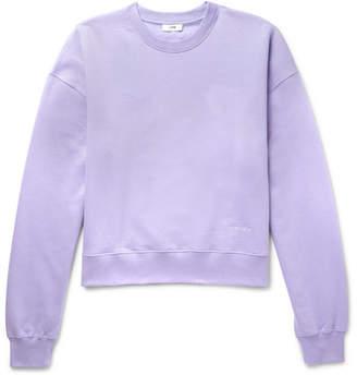 Cmmn Swdn Tron Fleece-Back Cotton-Jersey Sweatshirt