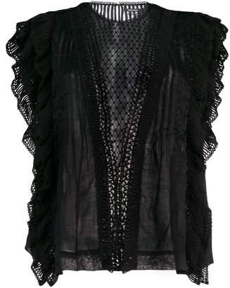Isabel Marant ruffle detail blouse