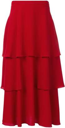 Stella McCartney tiered maxi skirt