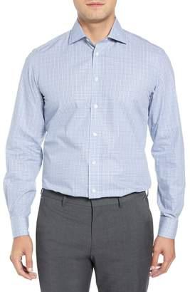 Luciano Barbera Slim Fit Check Dress Shirt