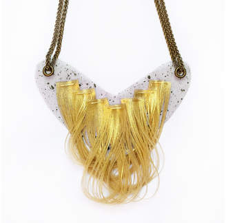 Motley Collections Gold Drape Necklace